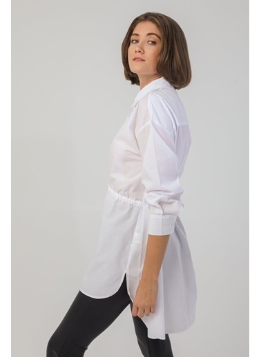 Modaset Gömlek Beyaz